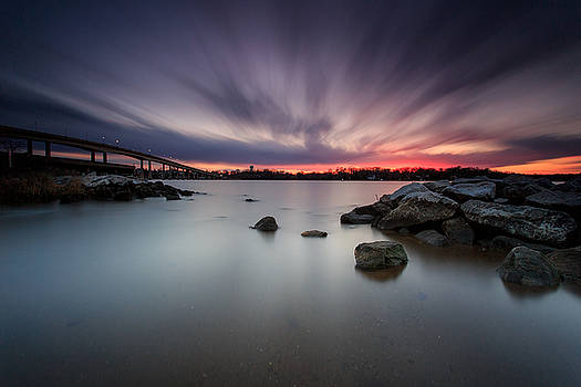 Severn River Dusk by Jennifer Casey