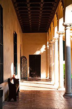 Sevilla Halls I by Dawn Wayand