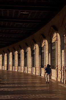Sevilla Halls II by Dawn Wayand