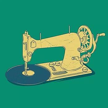 Sewing Disc Machine #artworth #art by Dadi Setiadi