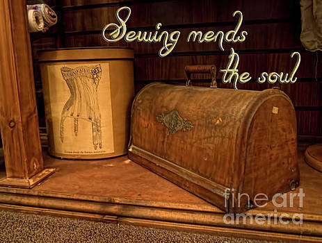 Sewing mends the soul by Gillian Singleton