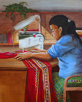 Dorothy Riley - Sewing Patchwork
