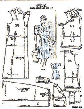 Sewing Pattern by Kanisha Moye