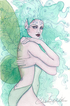 Sexy fairy by Christine Winters