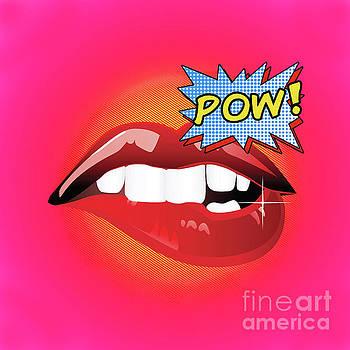 Tina Lavoie - Sexy vibrant Pop Art Lips