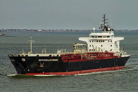 David French - Seychelles Pioneer Tanker Ship