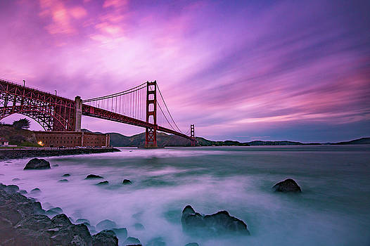 SF Bridge by Daryll Vispo