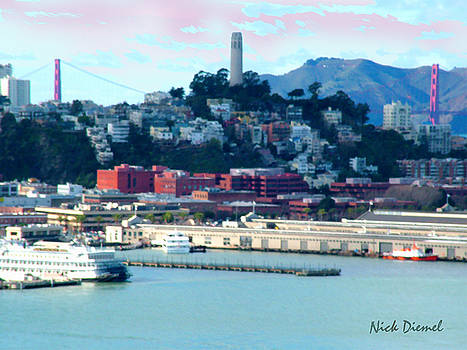 SF Harbor to Coit tower by Nick Diemel