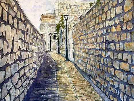 Safed - the Israeli Artist Colony by Sharon Gerber