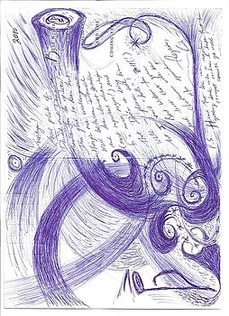 Sfz Image scan of a woodwind player's mind moments after the trumpet's clarion call.. by Rich Graham