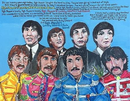 Sgt.Pepper's Lonely Hearts Club Band by Jonathan Morrill