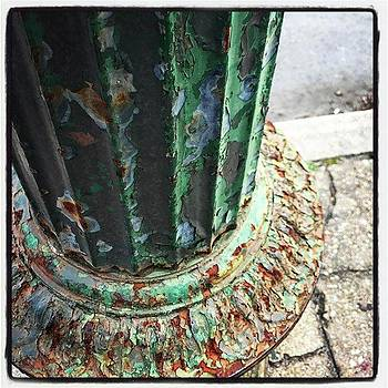Shabby Chic Street Detail by Alicia Boal