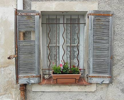 Shabby Elegant Window by Marilyn Dunlap