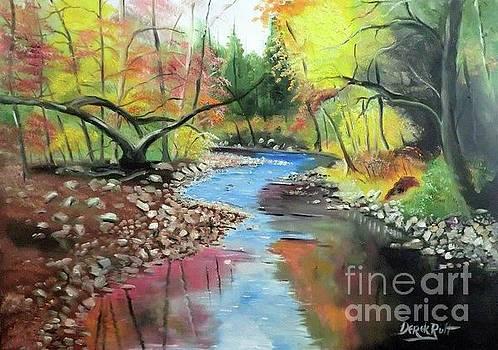 Derek Rutt - Shades of Autumn Reflections