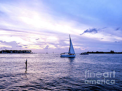 John Rizzuto - Shades of Blue at Night in Key West