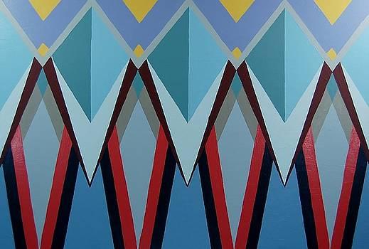 Shades of Blue by Charla Van Vlack
