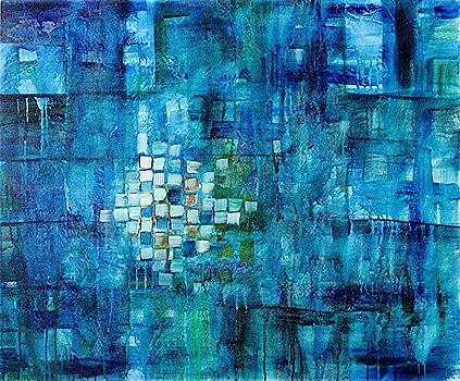 Shades of Blue by Elaine Balsley