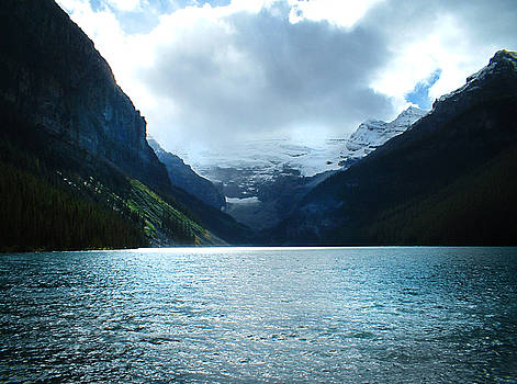 Shades of Lake Louise by Angela Boyko