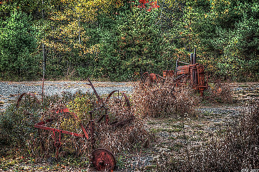 Shades of Rust by Richard Bean