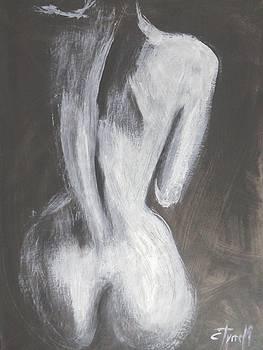 Shadow Figure 1 - Female Nude by Carmen Tyrrell
