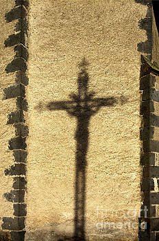 BERNARD JAUBERT - Shadow of a cross on a wall.