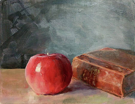 Shadow of an Apple by Adam Adkison