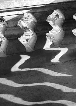 Shadow of railing by Hitendra SINKAR