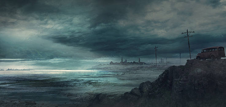 Shadow over Innsmouth by Guillem H Pongiluppi