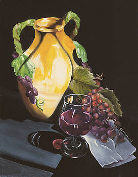 Shadows and Wine by Carol Sweetwood