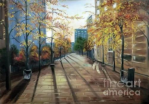Derek Rutt - Shadows In The City