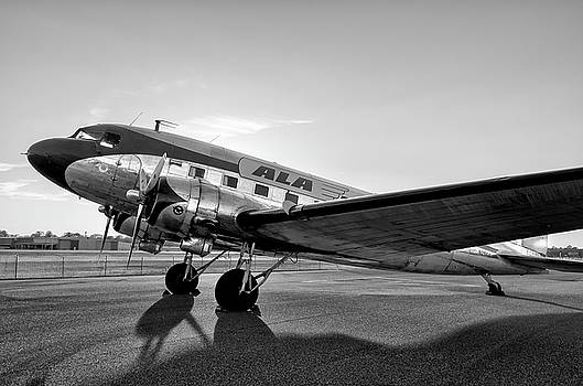 Shadows of a DC-3   by Chris Buff