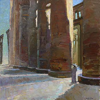 Shadows of the old Karnac by Juliya Zhukova