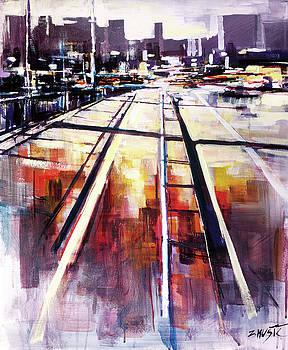 Shadows on the bridge by Zlatko Music