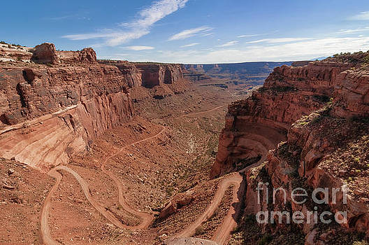Shafer Canyon Road by Sharon Seaward