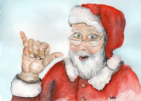 Shaka Santa by Bev Veals
