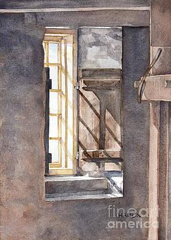 Shaker Barn Window Study by Steve Hamlin