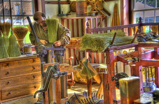 Sam Davis Johnson - Shaker Broom Maker