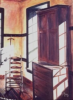 Shaker Series #3 by Elaine Balsley