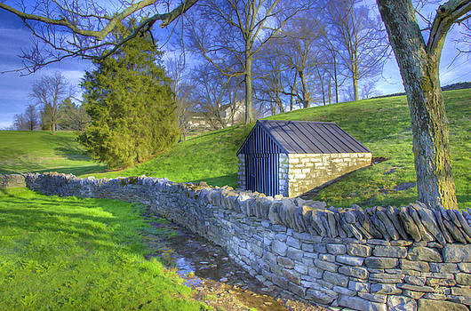 Sam Davis Johnson - Shaker Stone Wall 6