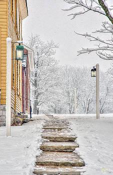 Sam Davis Johnson - Shaker Winter Walk 1