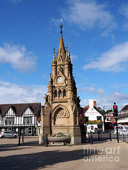 Shakespeare Memorial Fountain in Stratford upon Avon by Louise Heusinkveld