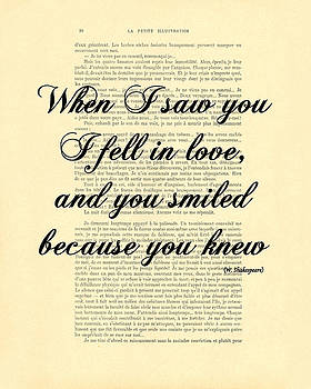 Shakespeare Quote by Madame Memento