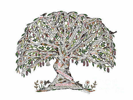 Shakespeare Tree by Sue Trickey