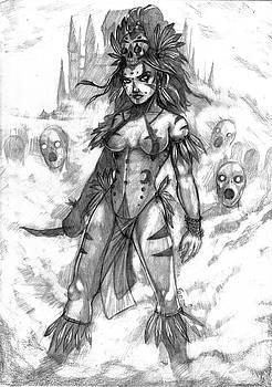 Vesna - the great shaman by Bartek Blaszczec