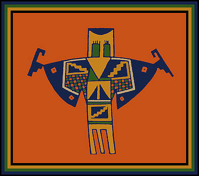 Shaman Bird Spirit by Vagabond Folk Art - Virginia Vivier