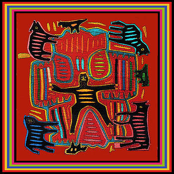 Shaman Ritual Dreams by Vagabond Folk Art - Virginia Vivier