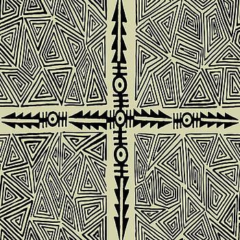 Shaman Ritual Map by Vagabond Folk Art - Virginia Vivier