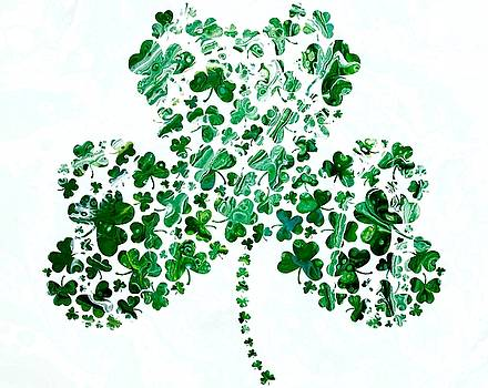 Shamrocks by Carol Blackhurst