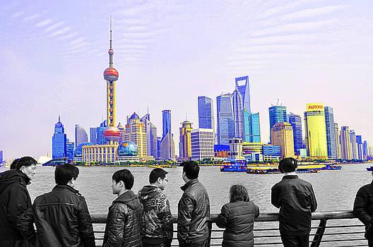 Dana Sohr - Shanghai Skyline