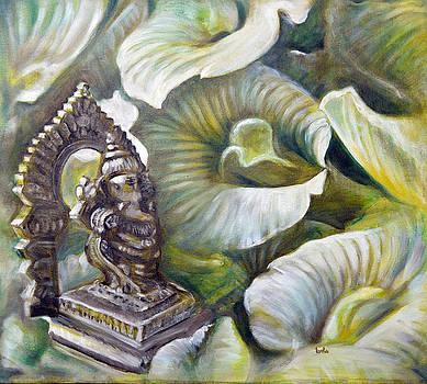 Shankupushpa Ganesha by Usha Shantharam